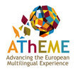 AThEME logo: Advancing the European Multilingual Experience