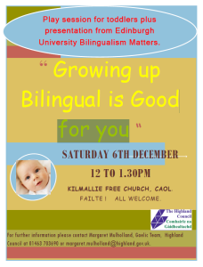 Leaflet: Growing up Bilingual is Good for You