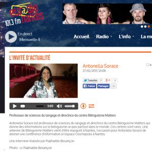 antonella EURadioNantes