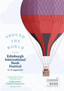 Edinburgh International Book Festival 2015 brochure cover